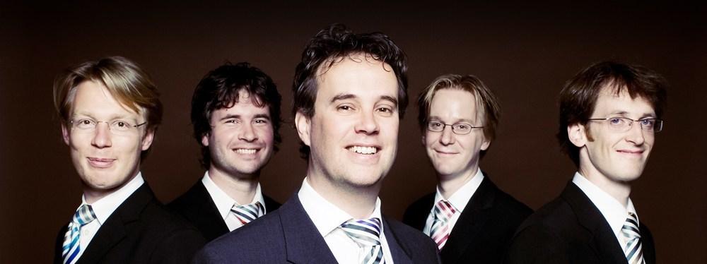 Vijf topblazers met een romantische ziel: het Farkas Quintet speelt in Tienhoven!