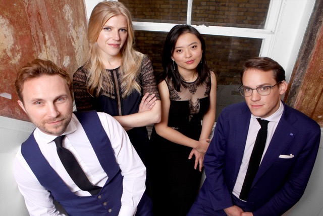 Doric String Quartet op 15 maart in Tienhoven