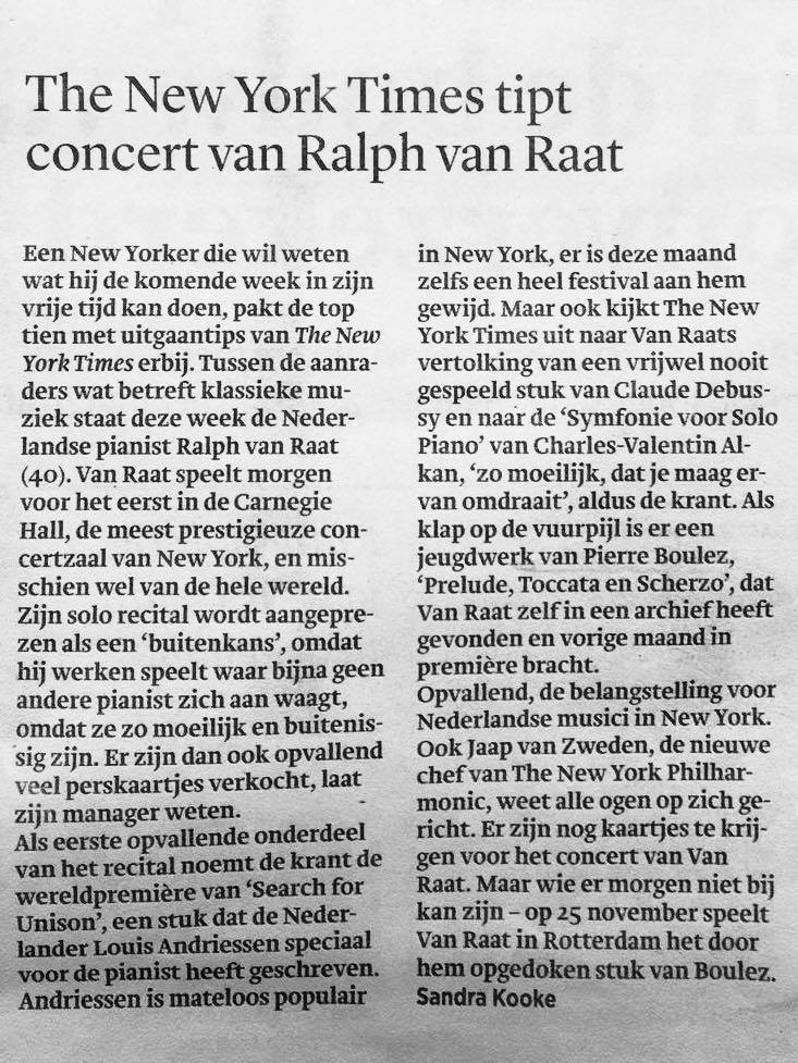 Ralph van Raat Dudok Kwartet Concert in Tienhoven