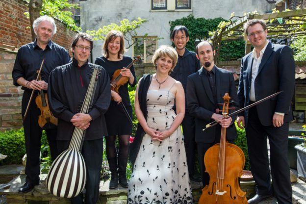 Johannette Zomer en het Tulipa Consort bij Concert in Tienhoven